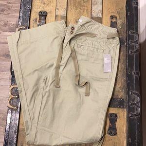 Army green pants-NWT